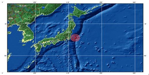 地 3.11 震源